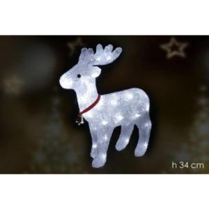 Cervo luminoso 40 led art. 429301