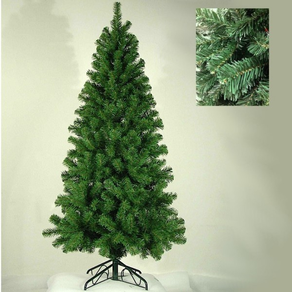Albero Di Natale Slim 210.Albero Di Natale Slim Cm 210 Verde Art 047023 Cerri Mario