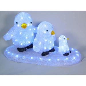Pinguini su base 96 led cm.50 art. 988630