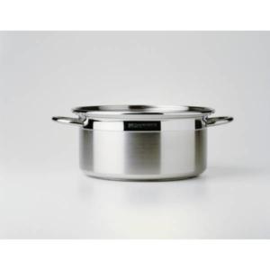 Casseruola 2 manici ICM cm.16 acciaio inox 18/10