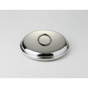 Coperchio ICM cm.16 acciaio inox 18/10