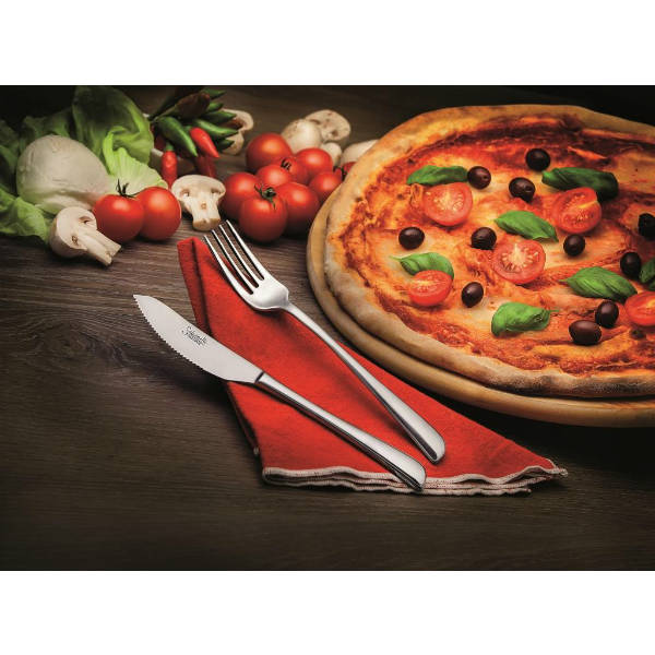 Forchetta pizza Salvinelli Pz.12 art. 061625 inox 18/10