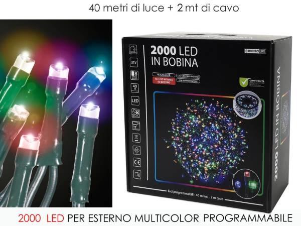 Catena 2000 Led Multicolor art. 450530