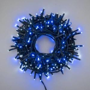 Catena lineare 300 mini led bianco e blu