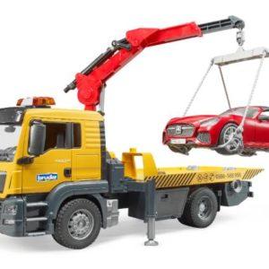 Bruder man tgs trasporto roadster c/luci e suono 03750