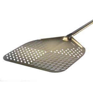 Pala Pizza in alluminio anod. cm.33X33 Art. G-32RF GI.METAL