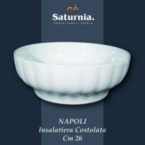 Insalatiera Napoli costolata 26 cm Saturnia
