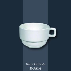 Tazza Cappuccio ROMA cl 17 con piatto Saturnia