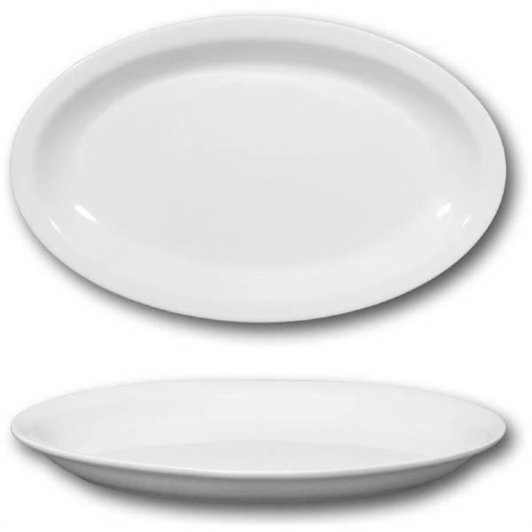 Piatto ovale Roma cm.32