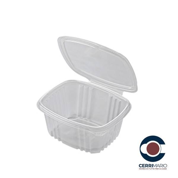 Vaschetta c/coperchio trasparente pz.50 cc 500 Art.MW500PP