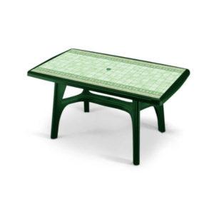 Tavolo President verde bosco SCAB cm.150x90 art.1803