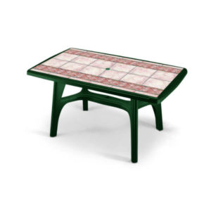 Tavolo President verde bosco SCAB cm.150x90 art. 2132