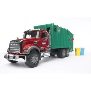 Bruder camion mack trasporto rifiuti