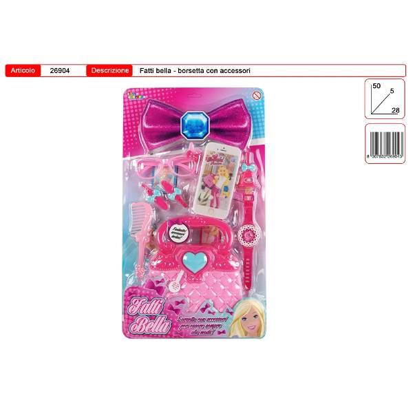 Gioco Borsetta accessori bellezza in blister art. 26904