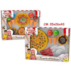 Happy pizza c/accessori art.65517