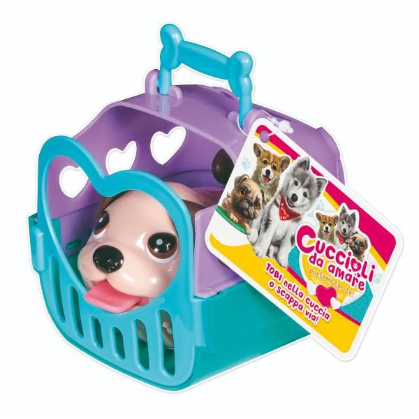 Cuccioli da amare c/gabbietta art.10482