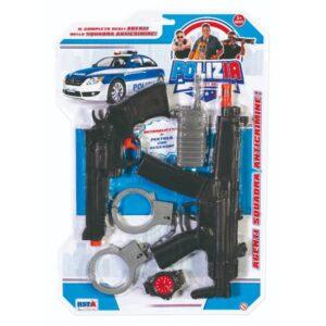 Blister accessori polizia art.10642