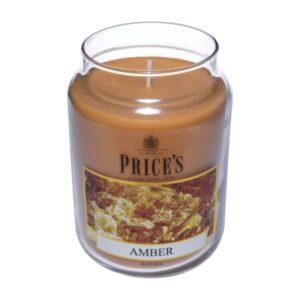 Price's candela in giara grande amber