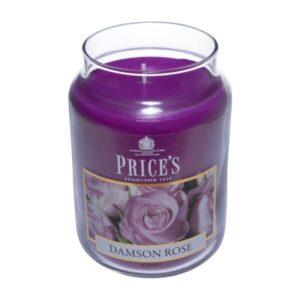Price's candela in giara grande damson rose