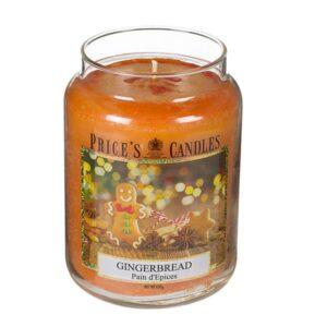 Price's candela in giara grande gingerbread