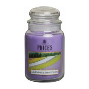 Price's candela in giara grande lavender/lemon