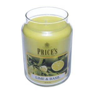 Price's candela in giara grande lime & basil