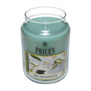 Price's candela in giara grande moments