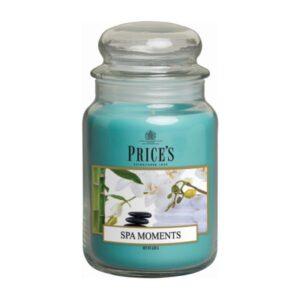 Price's candela in giara grande spa moments