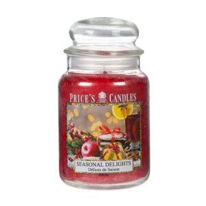 Price's candela in giara grande seasonal delights