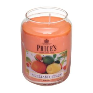 Price's candela in giara grande sicilian citrus