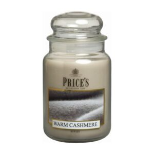 Price's candela in giara grande warm cashmere