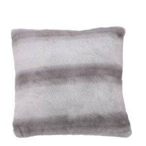 Cuscino grigio a strisce art.1081345