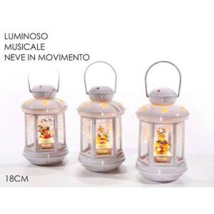 Lanterna c/luci e movimento cm.18 art.474805