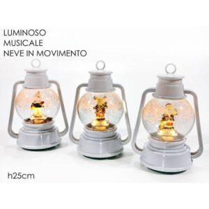 Lanterna c/luci e movimento cm.25 art.474806