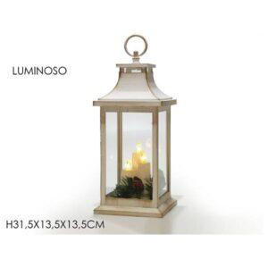 Lanterna bianca cm.31,5 art.632559