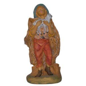 Statua Presepe: Pastore con pecora cm.40 art.E4109