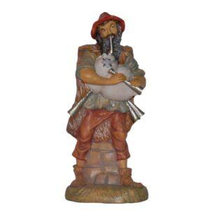 Statua Presepe: Zampognaro cm.40 art.E4111