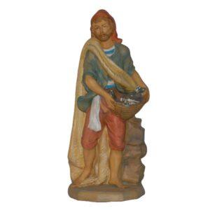 Statua Presepe: Pescatore cm.40 art.E4112
