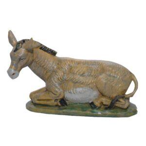 Statua Presepe: Asino cm.20 art.G20-5NL