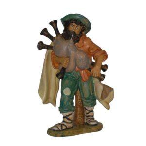 Statua Presepe: Zampognaro cm.20 art.PAS11-NL