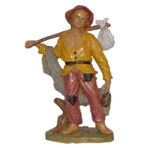 Statua Presepe: Pastore cm.30 art.PAS30-18NL