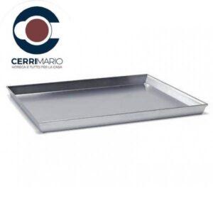 Teglia Pizza Rettangolare cm 45 Art. 200055045 Alluminio FASA