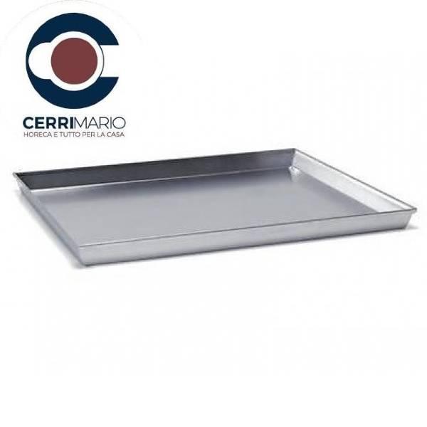 Teglia Pizza Rettangolare cm 40 Art. 200055040 Alluminio FASA