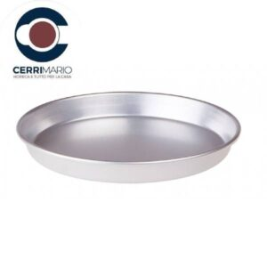 Teglia Pizza Rotonda cm 36 Art. 020057036 Alluminio FASA
