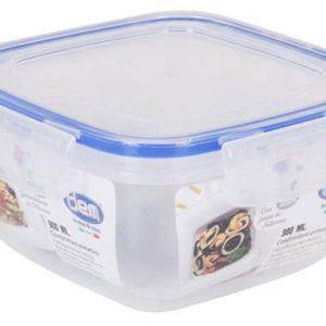 Scatola frigor ermetica 900ml 15X15X7,7cm DEM