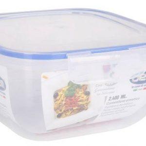 Scatola frigor ermetica 1,5lt 17,5X17,5X8,5cm DEM