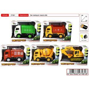Metropoli veicoli assortiti art.27481